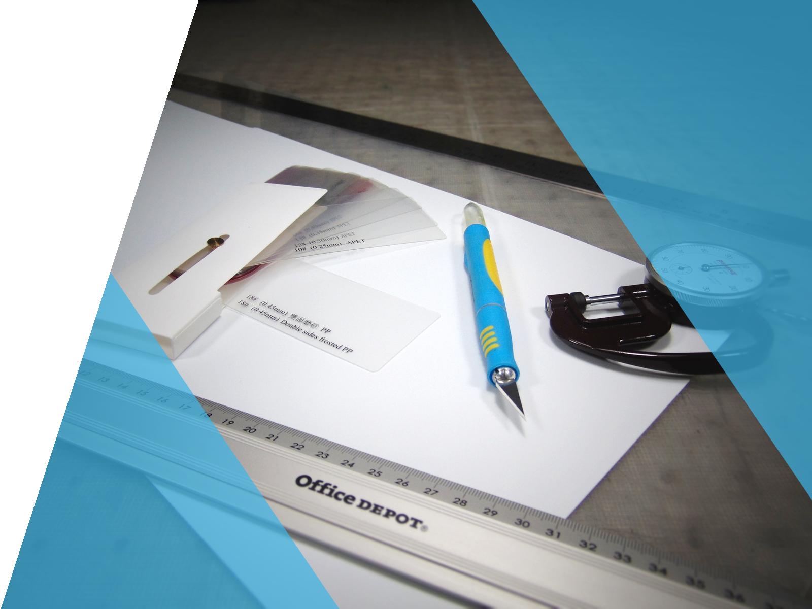 Design de packaging transparent HLP Klearfold