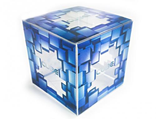 Boîte design cube