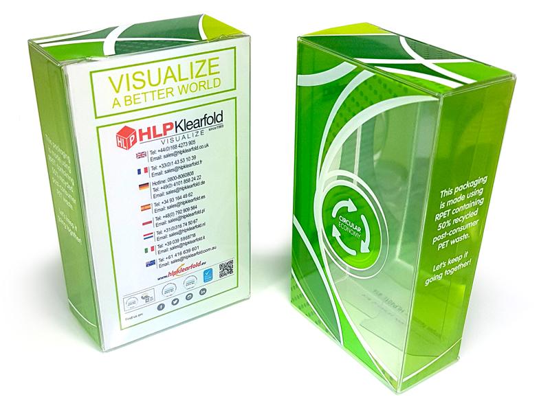 étui en plastique recyclable fabricant emballage HLP