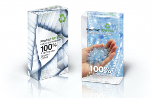 RPET plastique recyclable
